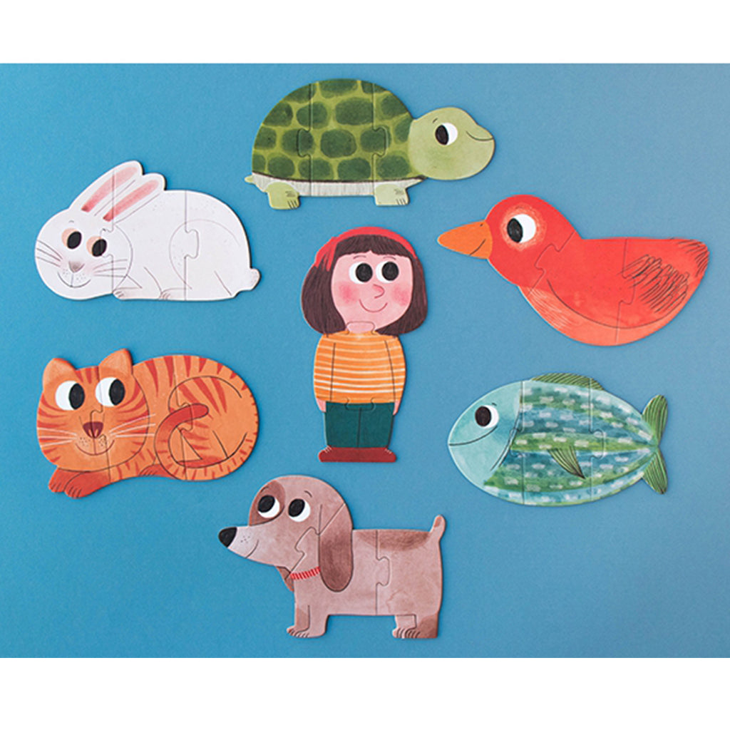 Londji - I Love My Pets 21 Pc Puzzle - Made in Spain | Mapamundi Kids