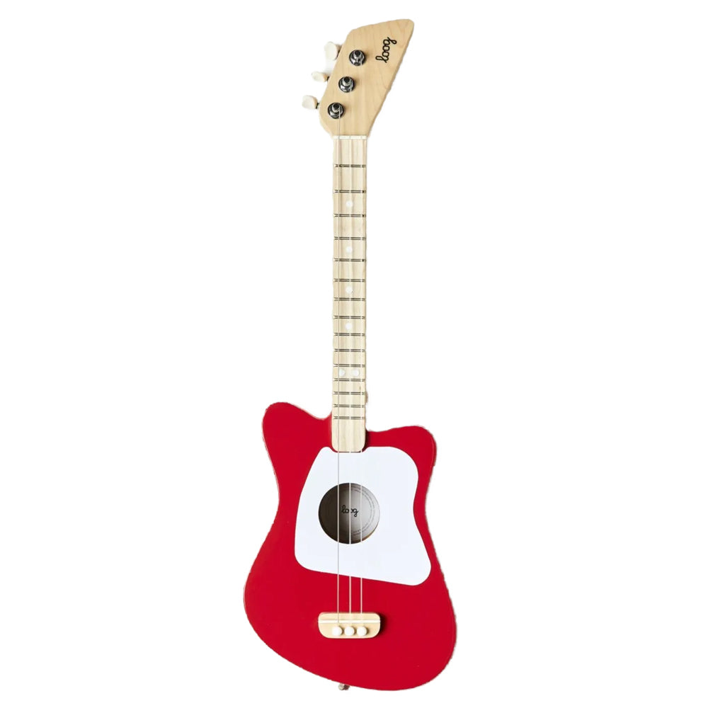 Loog - Acoustic Mini Guitars in Red, Black, Green or Pink | Mapamundi Kids