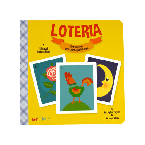 Lil Libros - Loteria: First Words/Primeras Palabras