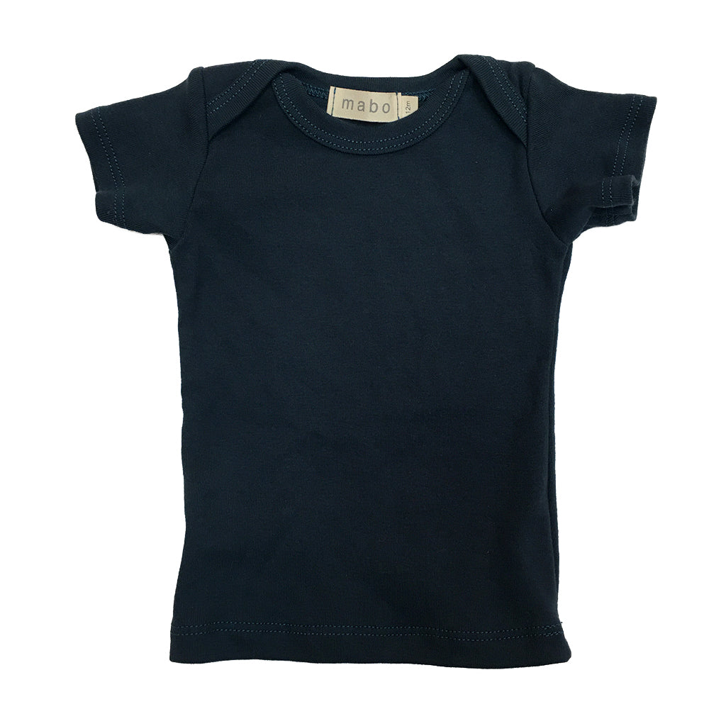 Mabo - Envelope Short Sleeve Tee - Ink | Mapamundi Kids