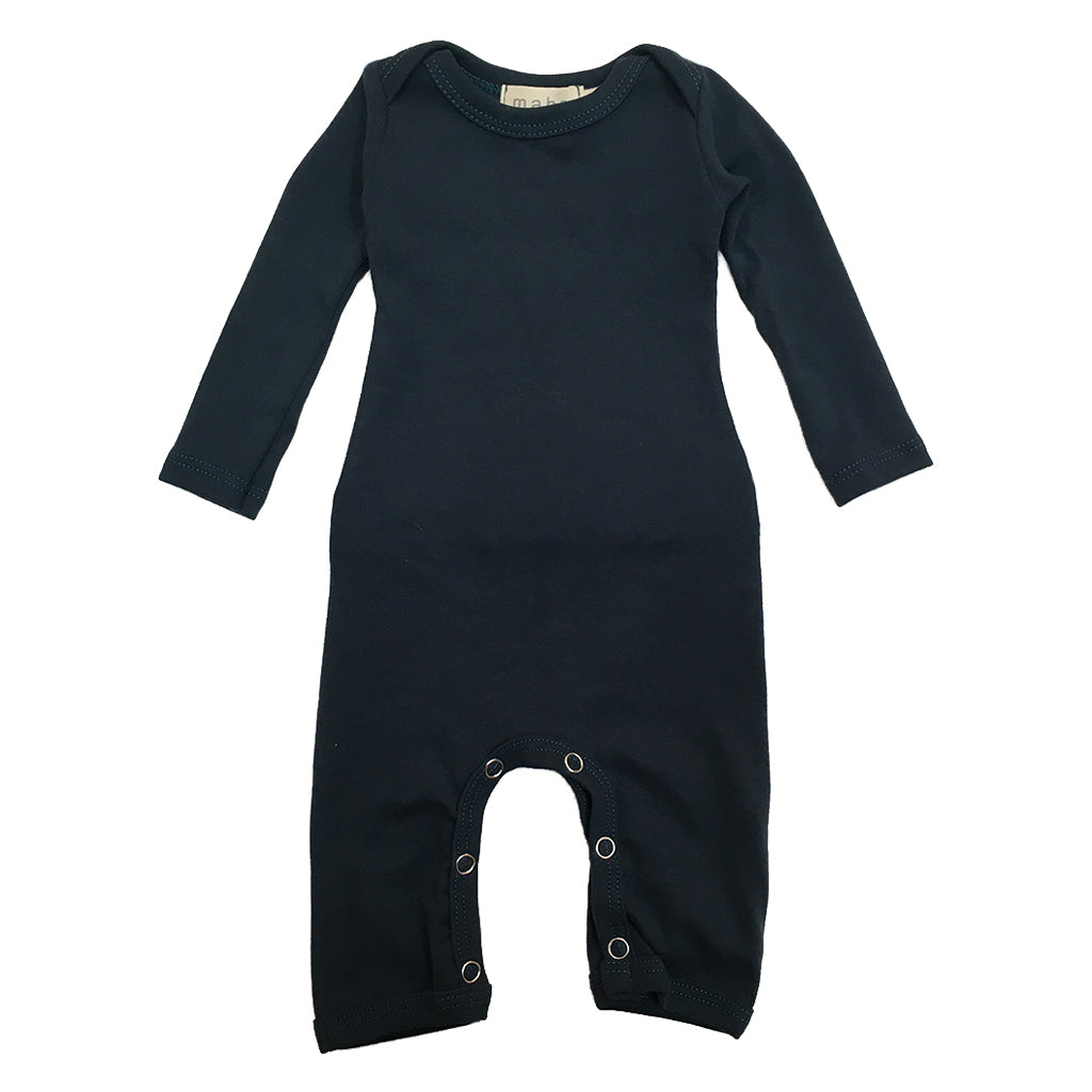 Mabo - Long John Bodysuit - Ink | Mapamundi Kids