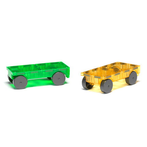 Magna-Tiles - Cars 2pc Expansion Set