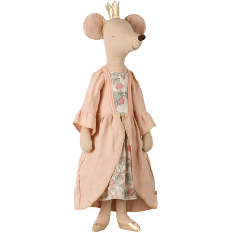 Maileg - Mega Mouse Princess - Rose - Designed in Denmark