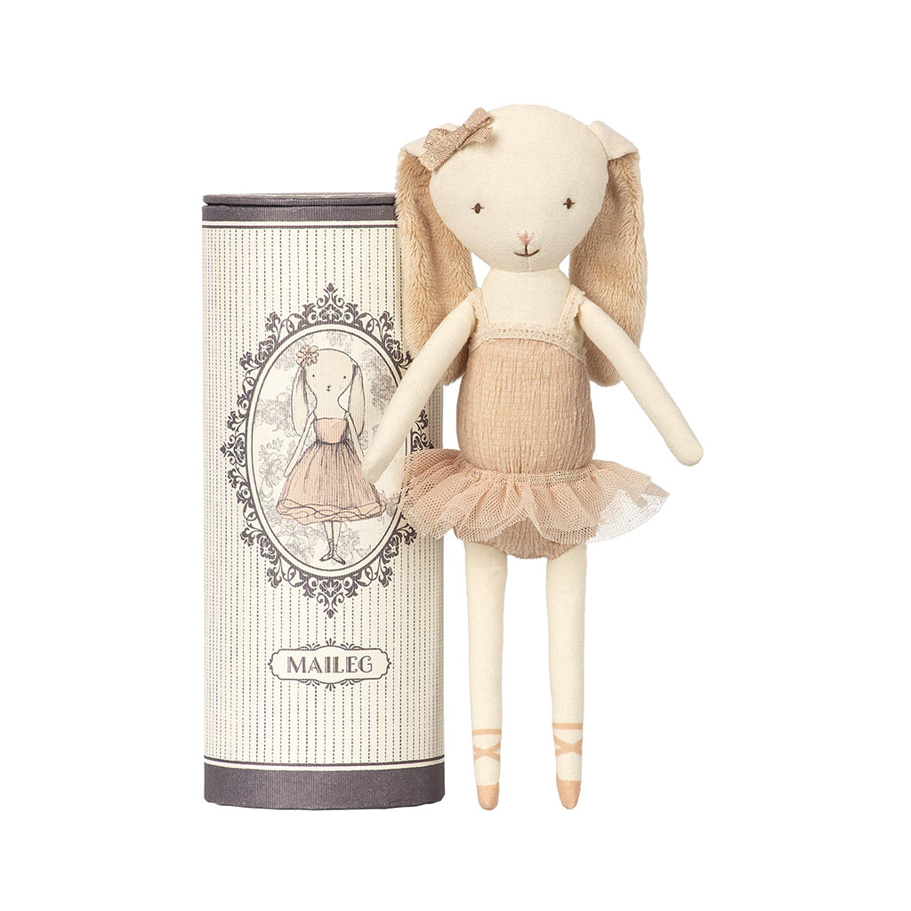 Maileg - Mini Bunny in Tube in Ballerina - Designed in Denmark