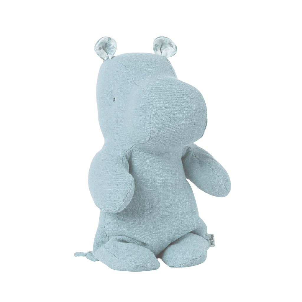 Maileg - Safari Friends Small Hippo - Light Blue | Mapamundi Kids