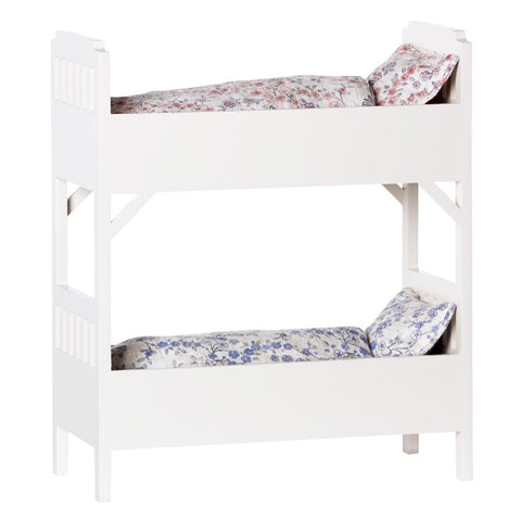 Maileg - Bunk Bed, Small - Off White - Designed in Denmark