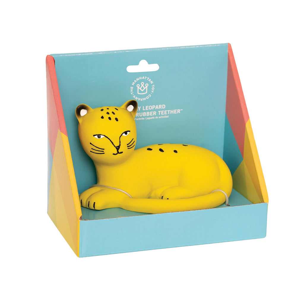 Manhattan Toy - Rubber Teething Toys: Llama or Leopard | Mapamundi Kids