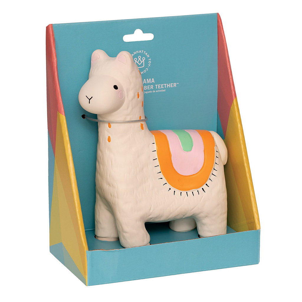 Manhattan Toy - Rubber Teething Llama