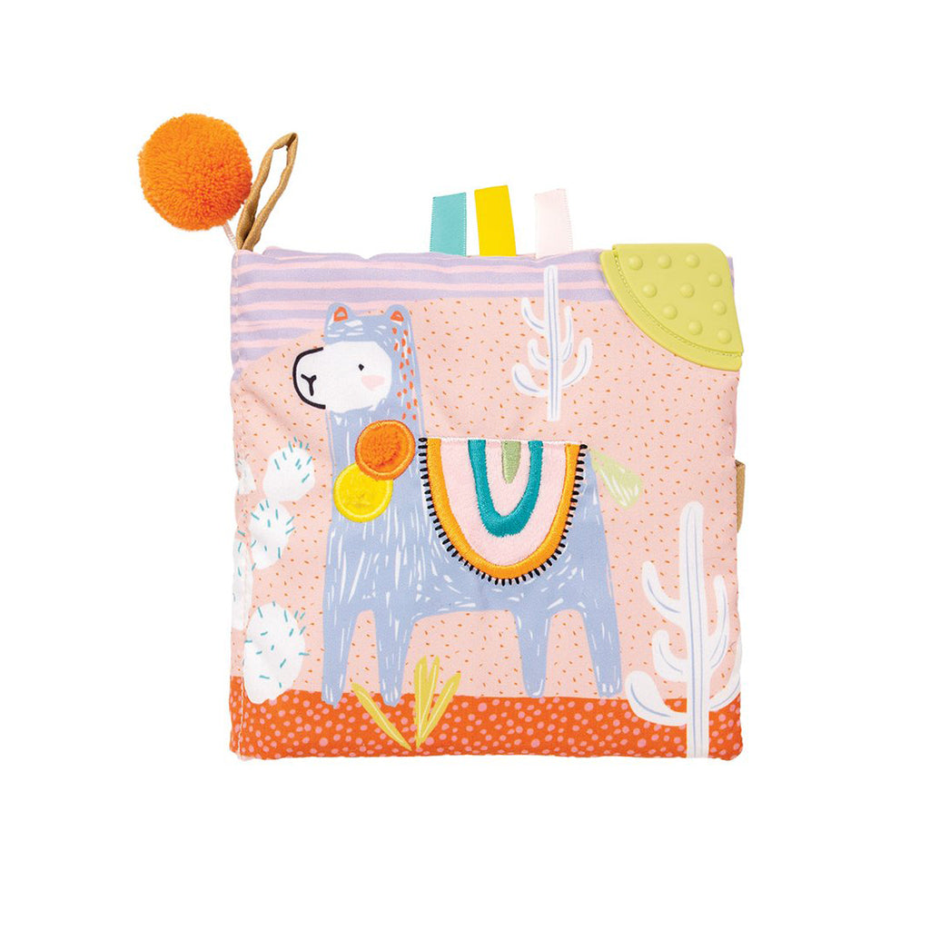 Manhattan Toy - Soft Book - Llama | Mapamundi Kids