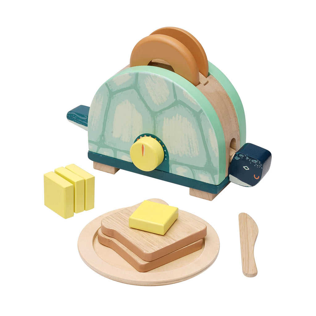 Manhattan Toy - Toasty Turtle Wooden Toaster | Mapamundi Kids