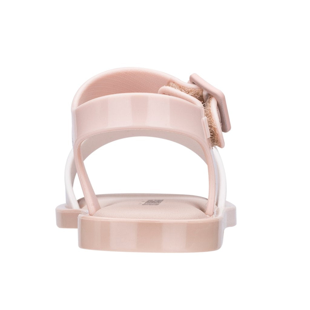 Melissa - Mini Melissa Mar Sandal IV in Nude Soft Pink - Made in Brazil