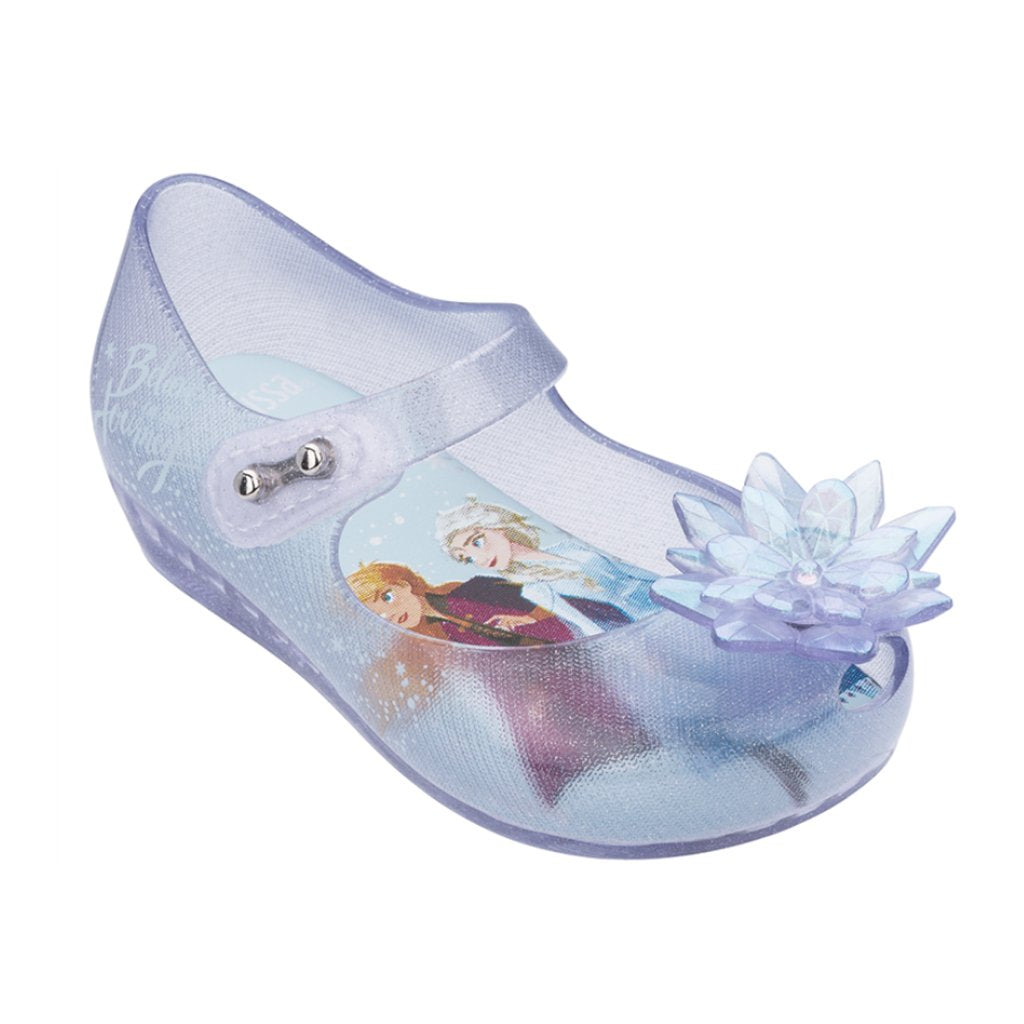 Melissa - Mini Melissa Ultragirl + Frozen XXV in Glass Glitter - Made in Brazil
