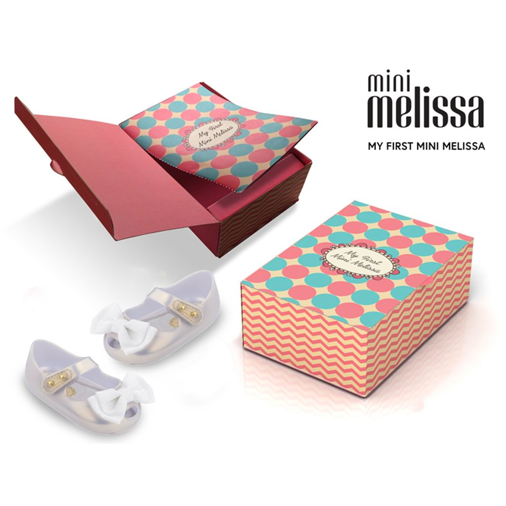 Melissa - My First Mini Melissa in Pearl - Made in Brazil