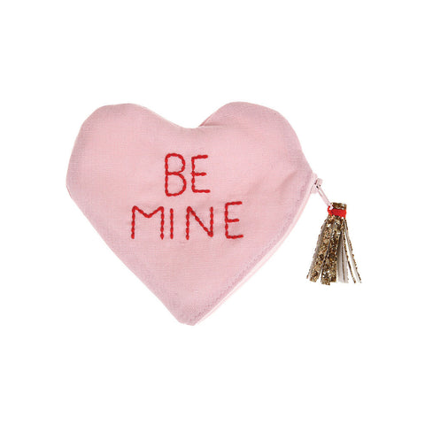 meri meri be mine heart pouch valentine's day item number 50-0130