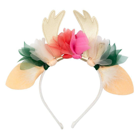 Meri Meri - Floral Deer Headband - Designed in the UK