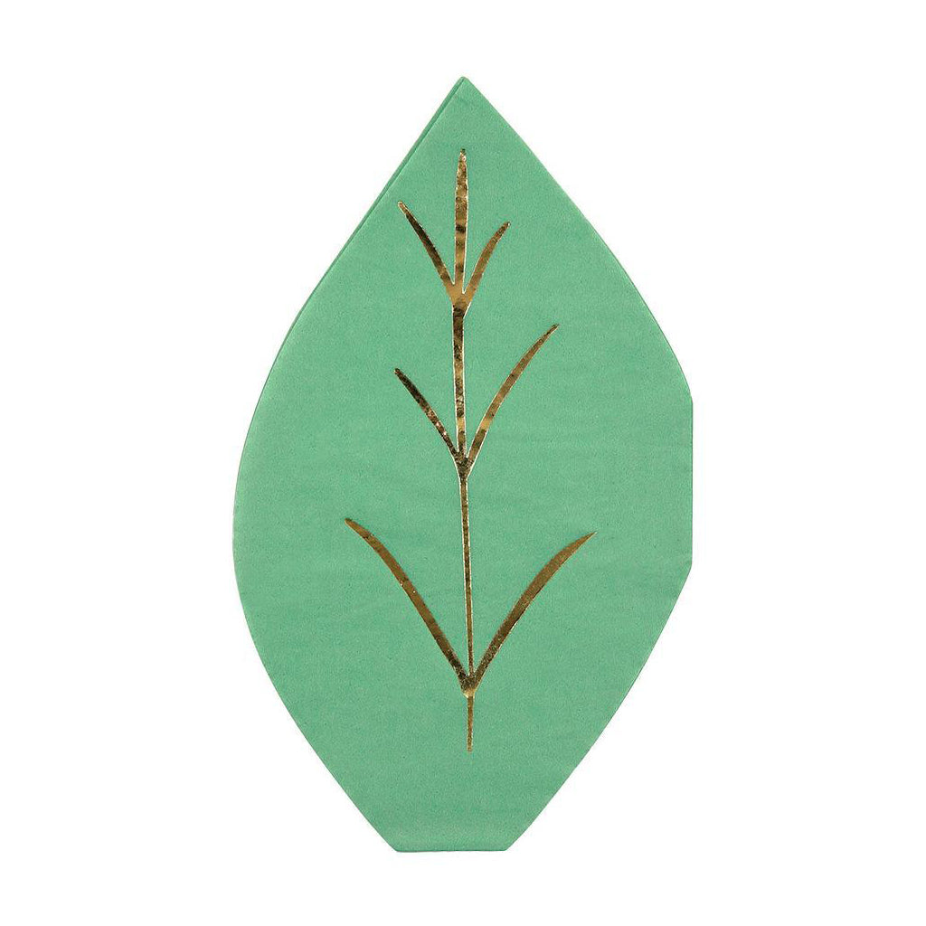 Meri Meri - Fresh Leaf Napkins - Designed in England