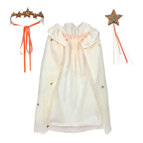 Meri Meri - Glitter Cape and Crown Dress Up Kit