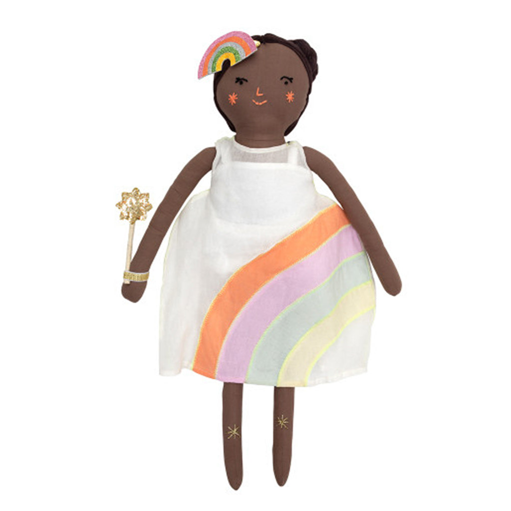 Meri Meri - Mia Doll with Rainbow Dress | Mapamundi Kids