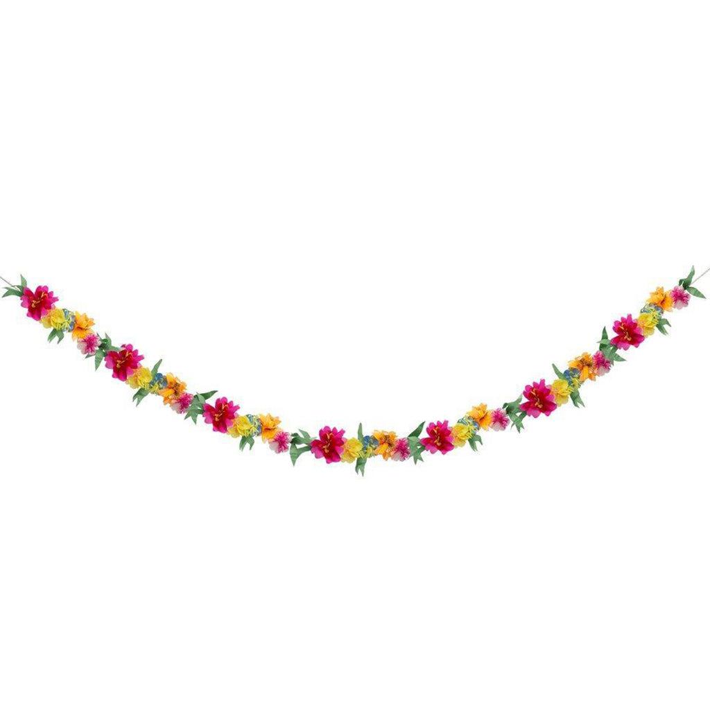 meri meri bright blossom garland neon flowers home decor