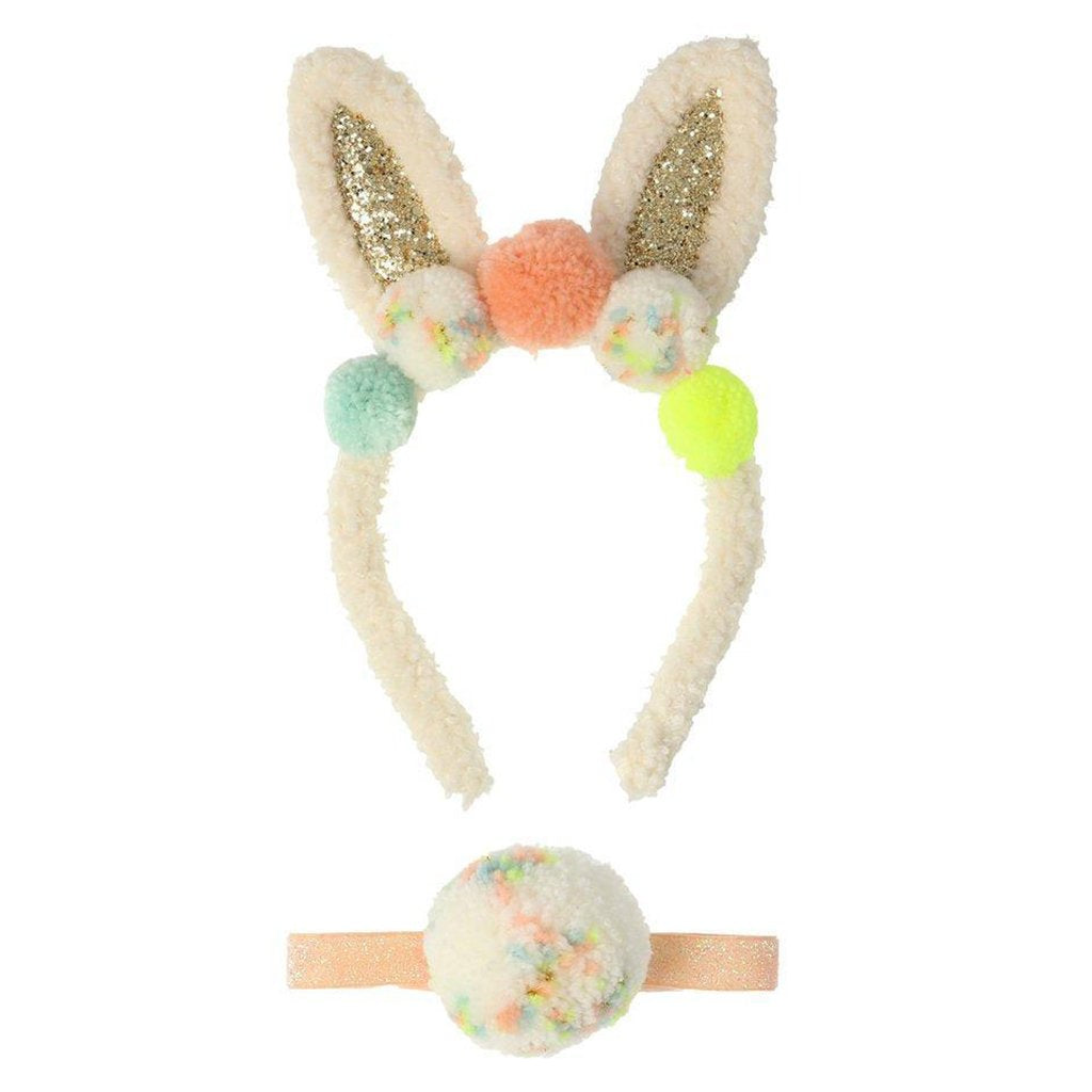Meri Meri - Pom Pom Bunny Ear Dress Up Kit - Easter 2020 - Designed in England