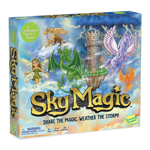 Peaceable Kingdom by Mindware - Sky Magic Board Game