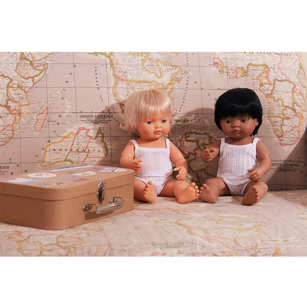 Miniland Educational - Baby Doll - Hispanic Girl 15"