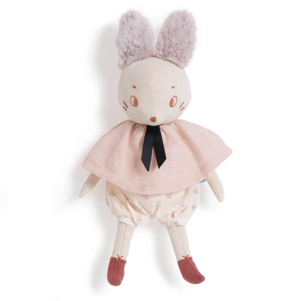 Moulin Roty - Apres le Pluie Woodland Animal Stuffies Pink Mouse Brume | Mapamundi Kids