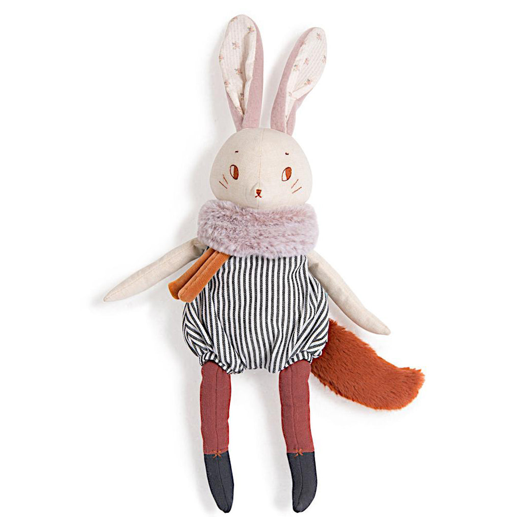 Moulin Roty - Large Rabbit Doll Plume | Mapamundi Kids