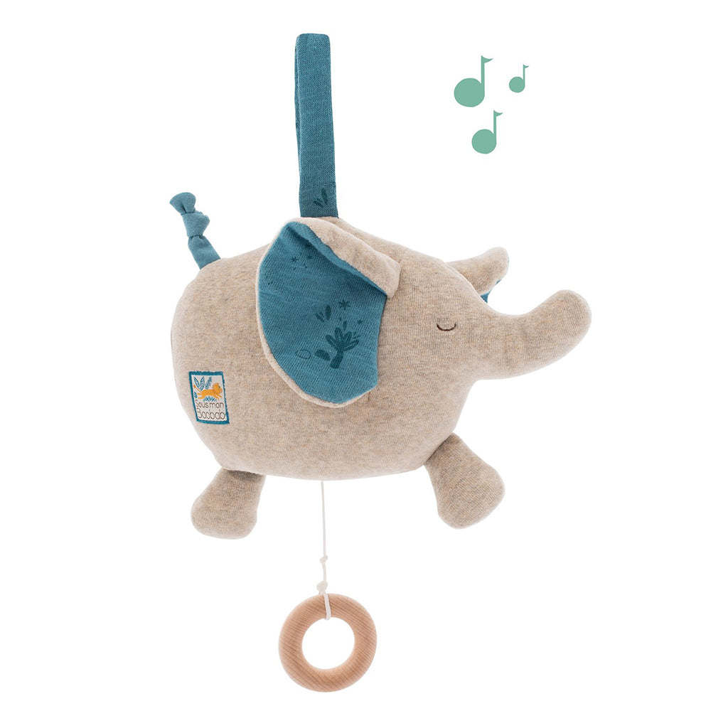 Moulin Roty - Musical Elephant Mobile | Mapamundi Kids