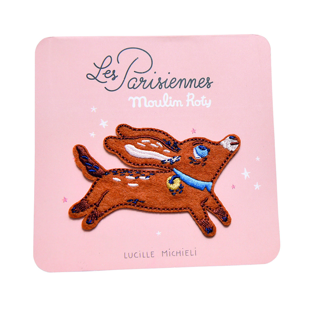 Moulin Roty - Embroidered Patch by Lucille Michieli in France