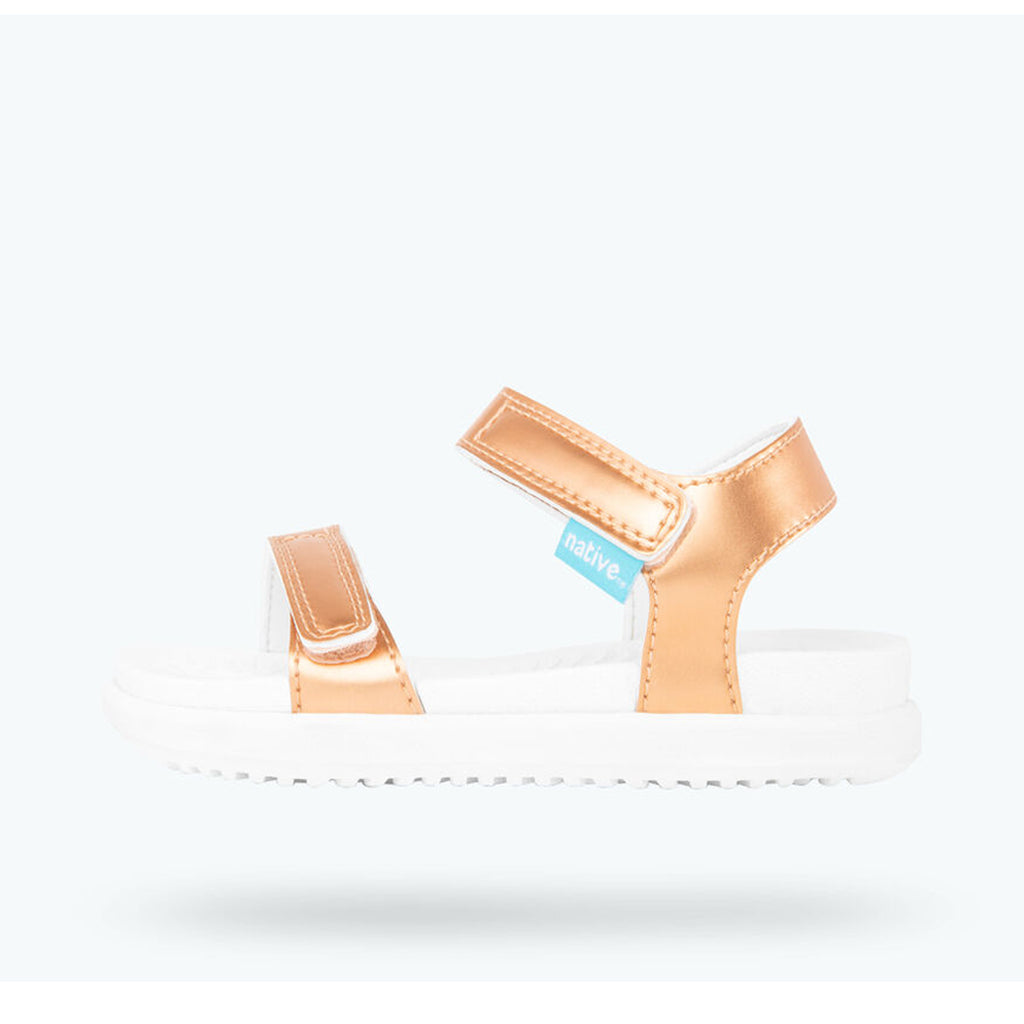 Native - Charley Sandal - Metallic Sand Castle