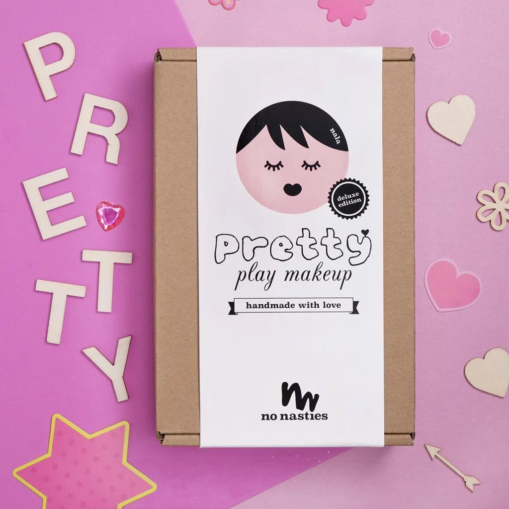 No Nasties - NALA - Deluxe PINK Box Makeup and Polish Pack | Mapamundi Kids