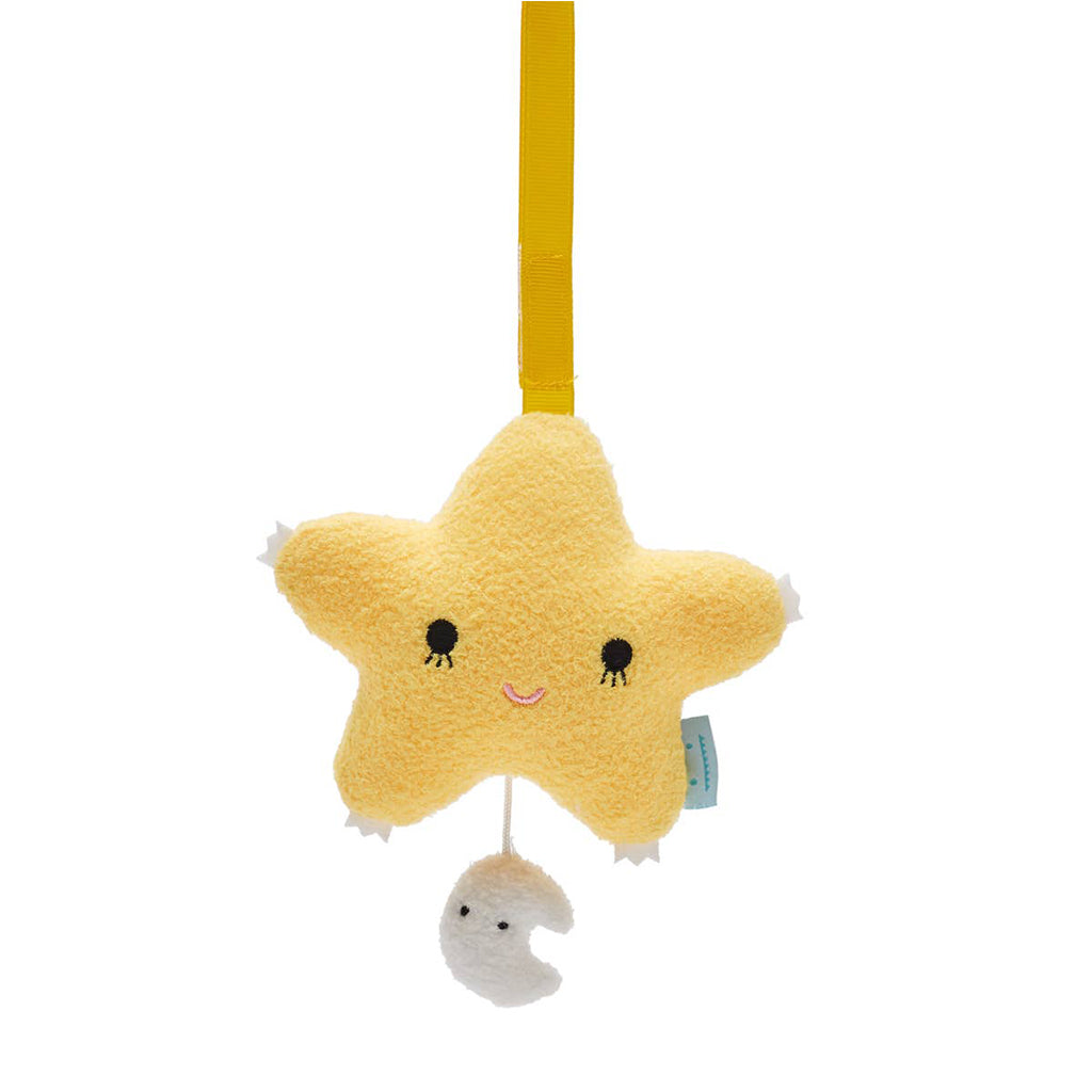Noodoll - Music Mobile Yellow Ricetwinkle Star | Mapamundi Kids