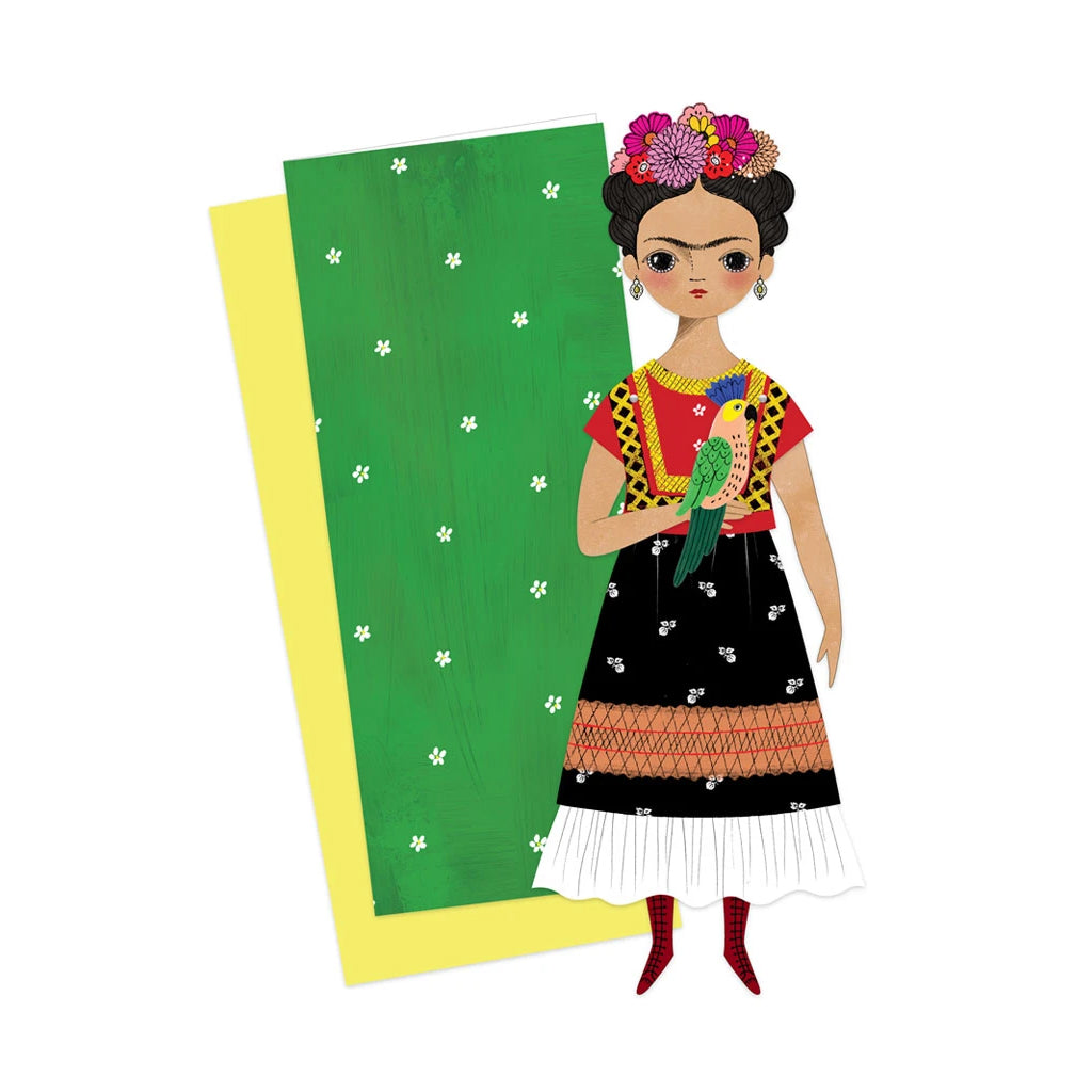 Of Unusual Kind - Frida Mailable Paper Doll | Mapamundi Kids