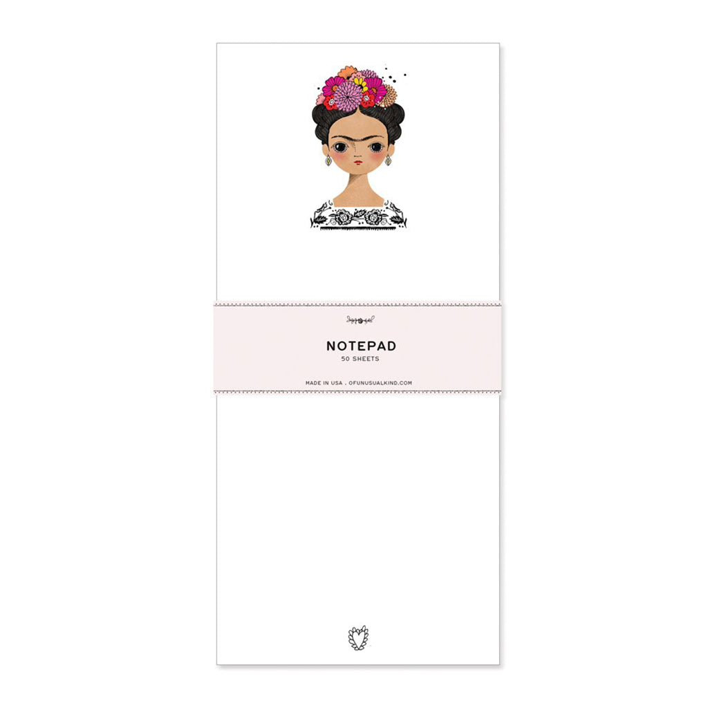 Of Unusual Kind - Frida Kahlo Notepad - Made in USA