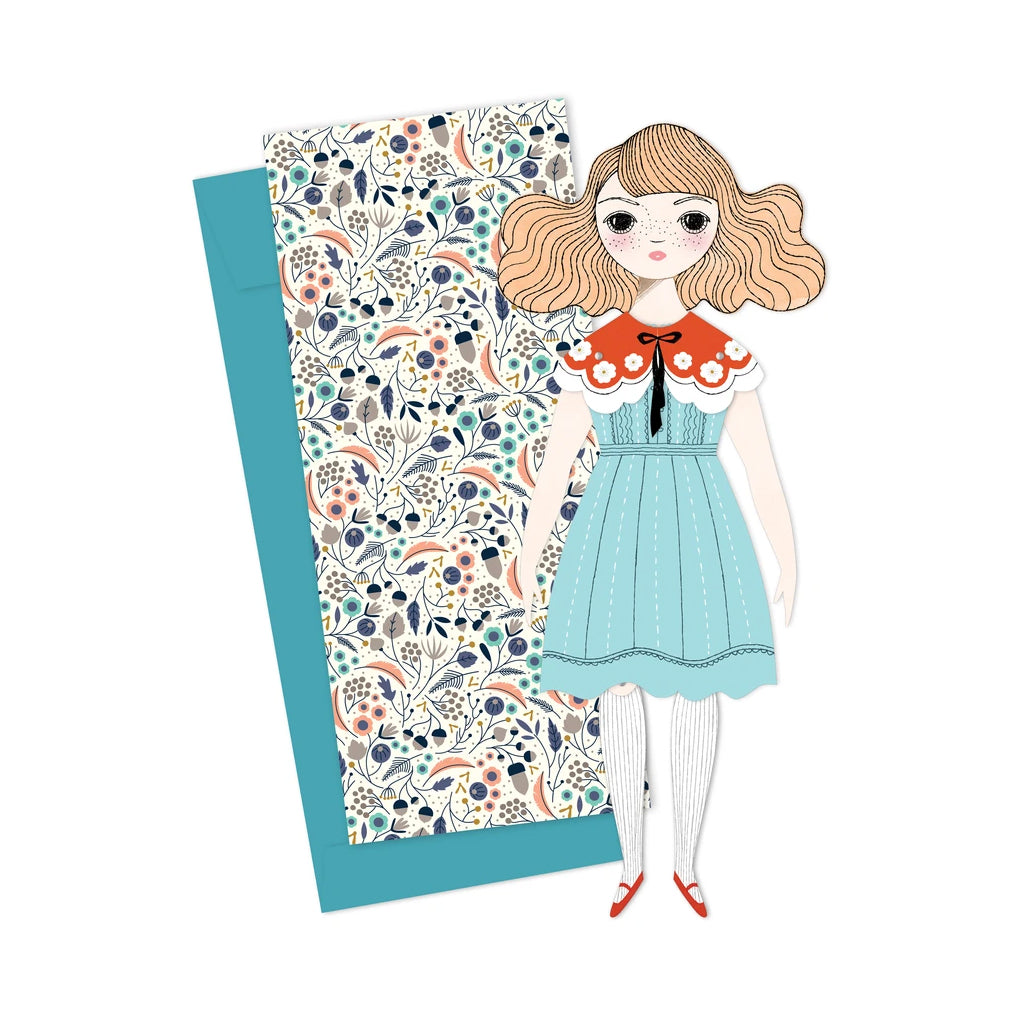 Of Unusual Kind - Magnolia Mailable Paper Doll | Mapamundi Kids