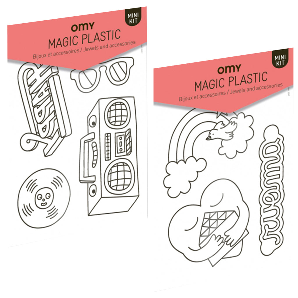 OMY France - Magic Shrinking Plastic | Mapamundi Kids