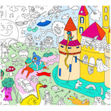 OMY - Magic Giant Coloring Poster - Finished Poster