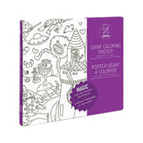 magic coloring poster made in france by omy