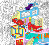 Party Giant Coloring Poster