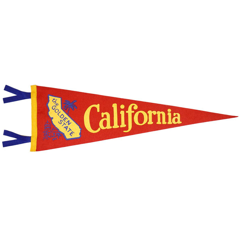 Oxford Pennant - Golden State California Pennant | Mapamundi Kids