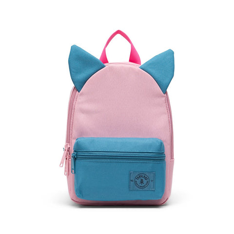 Parkland - Little Monster Ears Backpack in Sunrise - Made with 100% Recycled Water Bottles