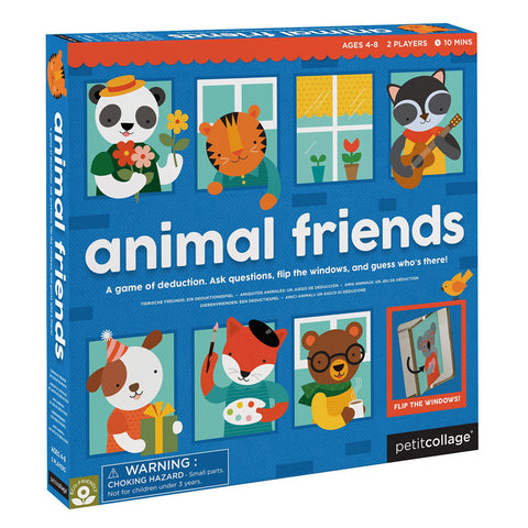 Petit Collage - Guess Who? Animal Friends Board Game
