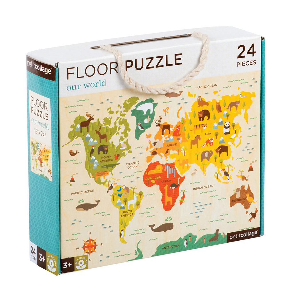 Petit Collage - Our World Floor Puzzle