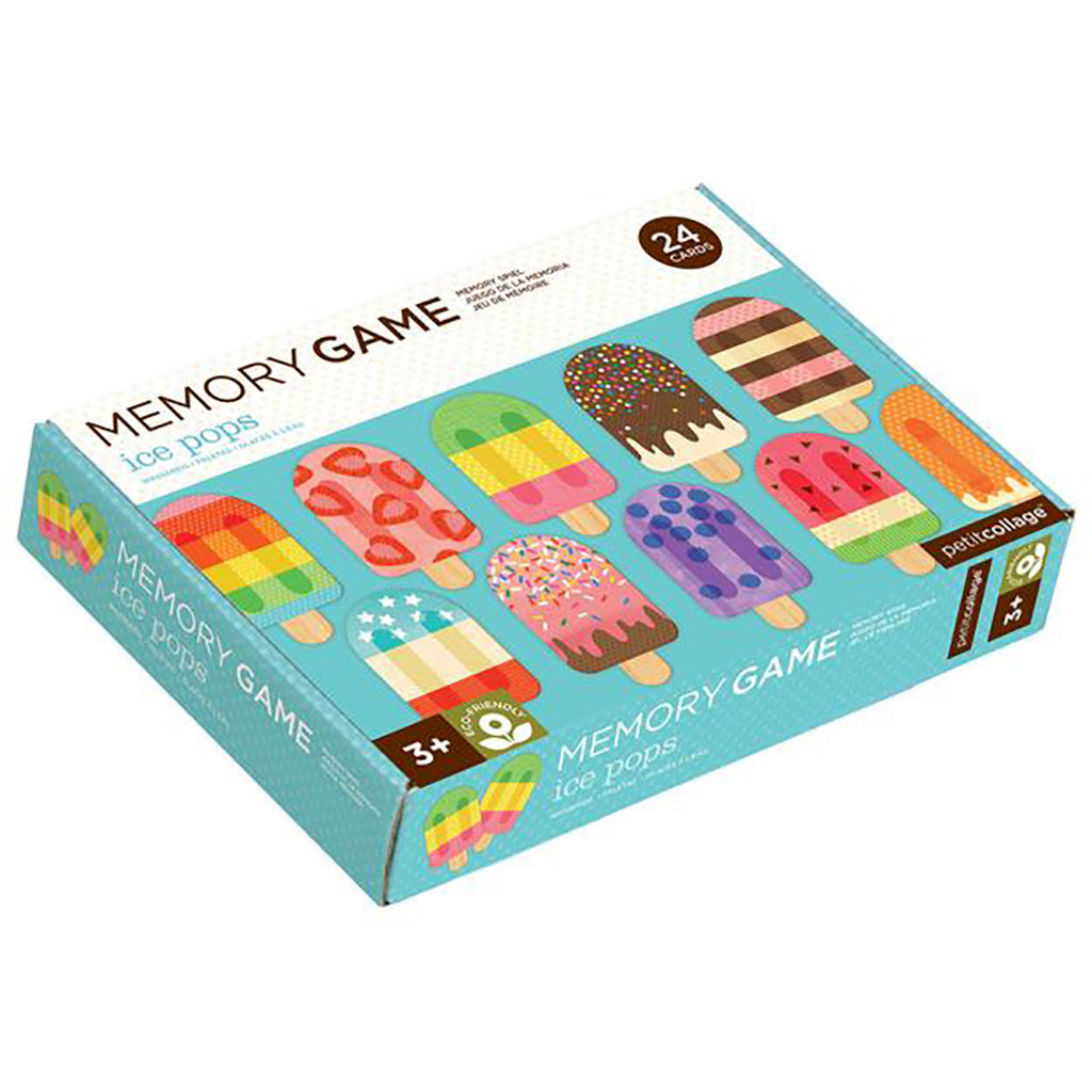 Petit Collage - Ice Pops Memory Game - Packaging