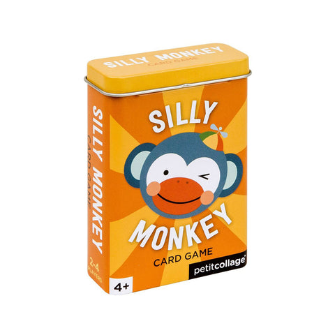 Petit Collage - Silly Monkey Card Game
