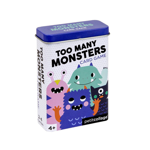Petit Collage - Too Many Monsters Card Game