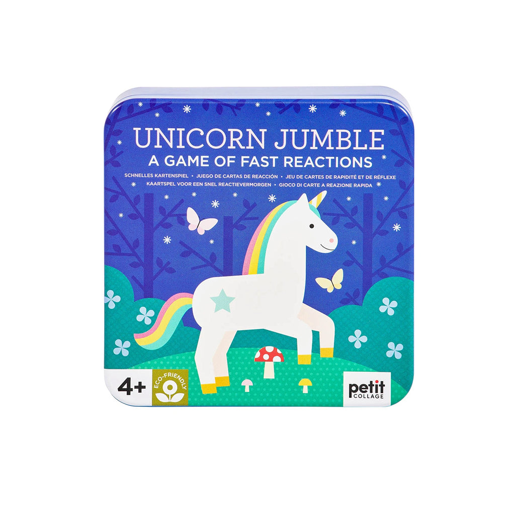 Petit Collage - Unicorn Jumble Card Game | Mapamundi Kids