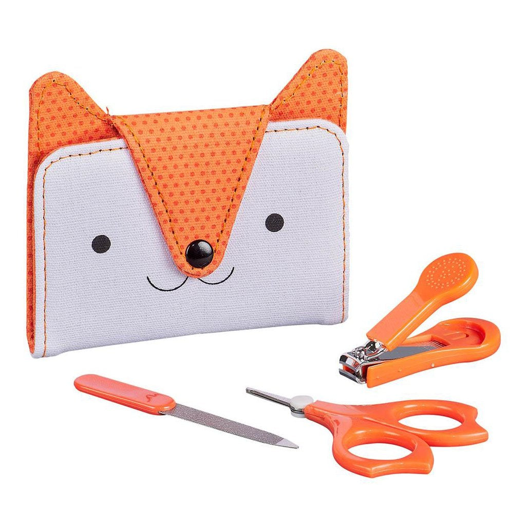 Petit Collage - Dapper Fox Baby Manicure Set - Wild & Wolf