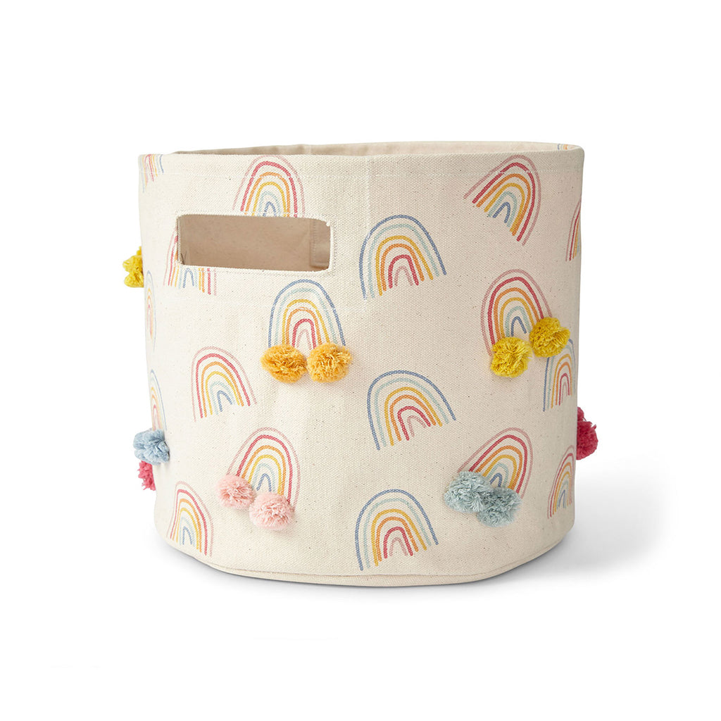 Petit Pehr - Happy Days Rainbow Pom Pom Storage Pint | Mapamundi Kids